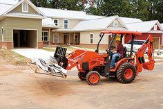Loader/Landscaper Tractors | B26 | Kubota Tractor Corporation