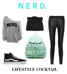 Embrace Your Inner Nerd by lifestylecocktail on Polyvore featuring McQ by Alexander McQueen, Vans, T-shirt & Jeans and Forever 21