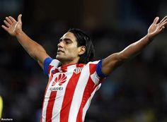 Radamel Falcao---Atlético Madrid