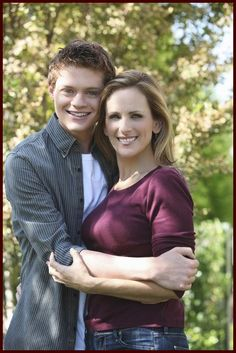 "Sean Berdy with Marlee Matlin in ""Switched at Birth."""
