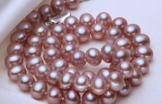 Charming-AAA-18-8-9mm-genuine-south-sea-pink-pearl-necklace