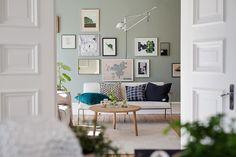 Een Scandinavisch huis met een boel kleurinspiratie voor je muren - Roomed