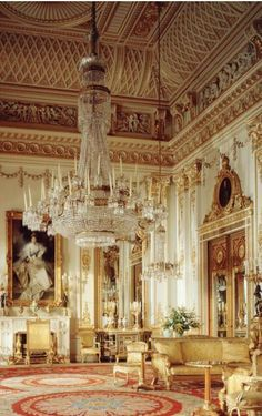 A L Ancien Regime: U201cWhite Drawing Room, Buckingham Palace. ©The Royal  Collection Her Majesty Queen Elizabeth II, Photographer: Derry Moore U201d