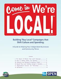 Buy Local Campaigns