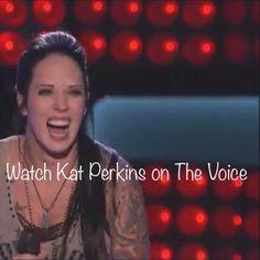Kat Perkins new \'do\' for Monday, May 12, 2014. She sang ...