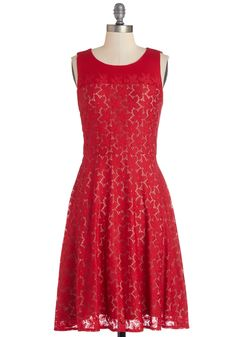Make It Poppy Dress, #ModCloth