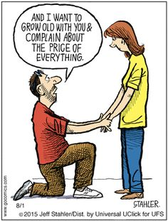 Moderately Confused | Go Comics  (Aug/01/2015)  #relationship_funnies