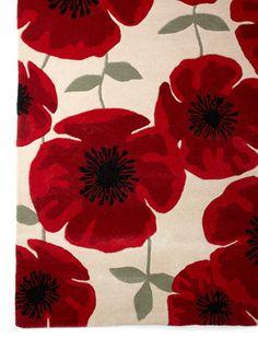 Red Poppy Rug Dunelm Mill My Style Pinterest Shops
