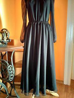 ivettetextil / Šifonová sukňa Formal Dresses, Fashion, Dresses For Formal, Moda, Formal Gowns, Fashion Styles, Formal Dress, Gowns, Fashion Illustrations