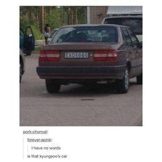 Kyungsoo's car