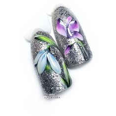 """If you're unfamiliar with nail trends and you hear the words """"coffin nails,"""" what comes to mind? It's not nails with coffins drawn on them. It's long nails with a square tip, and the look has. Spring Nail Art, Nail Designs Spring, Spring Nails, Cute Nail Art, Cute Nails, Pretty Nails, Acrylic Nail Designs, Nail Art Designs, Acrylic Nails"""