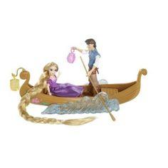 Rapunzel Boat Ride Playset