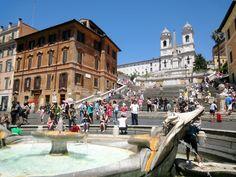 Spanish Steps,