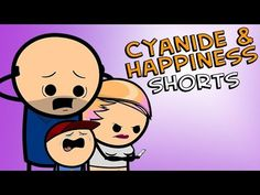 The Family Man - Cyanide & Happiness Shorts Cyanide And Happiness Shorts, Cyanide Happiness, Bill Jones, Holy Diver, Connor Murphy, Face In Hole, Youtube Live, Mothman, Save The Day