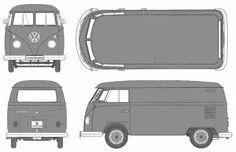 Volkswagen Type 2 T1 (Split) Panel