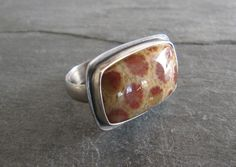Fossil Coral Ring in Sterling Silver, $89.00