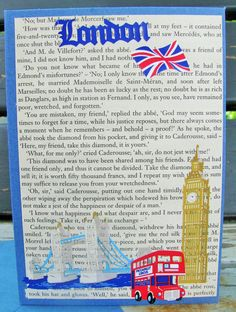 London City Handmade Card greeting card by RogueKissedCraft London City, Etsy Store, The Twenties, Greeting Cards, Handmade Gifts, Crafts, Awesome, England, Kid Craft Gifts