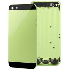 [USD12.44] [EUR11.23] [GBP8.71] Full Housing Alloy Replacement Back Cover for iPhone 5(Green)