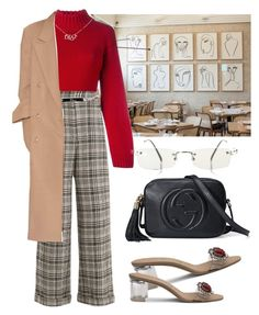 """Untitled #731"" by chandele ❤ liked on Polyvore featuring DKNY, Off-White, Christian Dior, Jean-Paul Gaultier and Gucci"