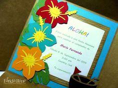 Moana invitations for children's parties Aloha Party, Hawaii Birthday Party, Hawaiian Birthday, Luau Party, Beach Party, Birthday Ideas, Moana Party, Lua Party Ideas, Luau Pool Parties