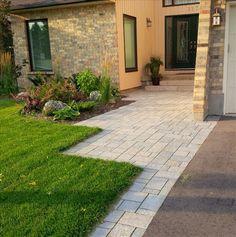 Broad  paver entrance- Wright Landscape Services