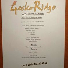 Come and join us for a delicious buffet on the .Our menu has something for everyone valley Resturaunt Malva Pudding, Savory Rice, Riced Veggies, Butter Sauce, Green Garden, Pork Roast, Buffet, Stuffed Mushrooms