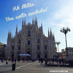 Hora de dizer até breve pra Milão... Minha viagem pra Itália está chegando ao fim e eu simplesmente amei conhecer um pouco mais da Lombardia - Instagram by aprendizviajant