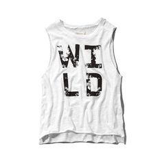 Abercrombie & Fitch Wild Graphic Muscle Tank