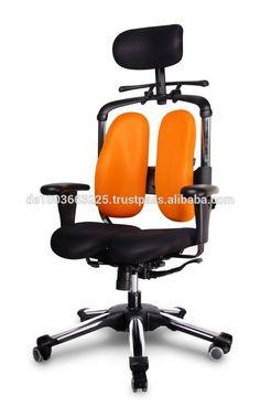 NEW HARACHAIR, pressure relief of the intervertebral discs and improved buttock circulation. Model: Nietzsche, Color: Orange #gamer, #desk
