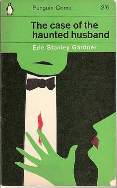 Great title!  The Case of the Haunted Husband - Penguin book cover by Covers etc, via Flickr