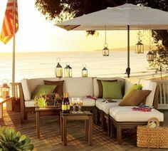 Terrassen » 20 Ideen für Gartenmöbel – den Sitzbereich im Garten ...