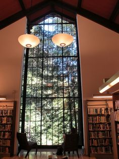 Mill Valley - The library windows #livinginmillvalley #millvalleycalifornia