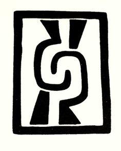 Símbolos precolombinos: Ollin | puri2aprendiendovida Arte Tribal, Aztec Art, Paper Bead Jewelry, Bullet Journal Ideas Pages, Mexican Art, Stencil Designs, Aboriginal Art, Pictogram, Yin Yang