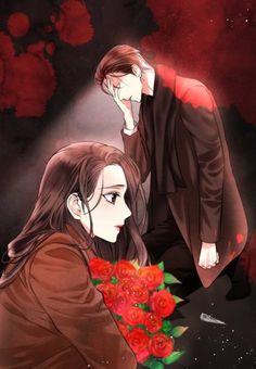 날 가져요-로맨스(완결) : 네이버 블로그 Anime Girl Drawings, Anime Art Girl, Black Phone Wallpaper, Cute Anime Coupes, Romantic Manga, Couple Romance, Beautiful Fantasy Art, Acrylic Wall Art, Fathers Love