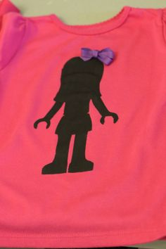 Lego friends shirt. So cute! @Katie Hrubec Moravec Libby should get this!