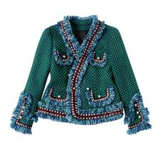 Bridgette Embellished Tweed Jacket