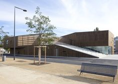 Cultural Centre in Nevers by Ateliers O-S Architectes
