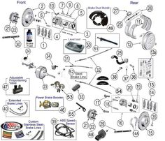 toyota engine parts diagram whelen light bar wiring interactive wrangler tj suspension jeep brakes