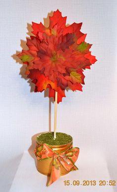Радість творчості: Осенний топиарий