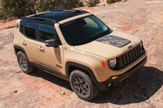 2017 Jeep Renegade Gains Deserthawk and Altitude Special Editions