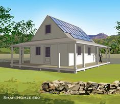 Smarthomze | Delivering affordable, net-zero-energy buildings featuring the latest energy conservation technologies