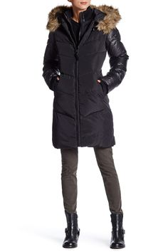 Faux Fur Ashley Coat by Rudsak on @nordstrom_rack