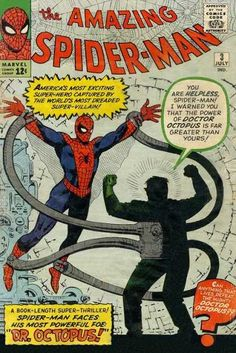 Amazing Spider-Man #3  First appearance Dr. Octopus