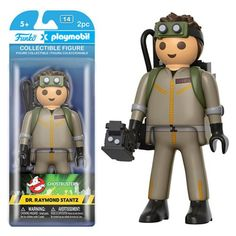 Ghostbusters Dr. Raymond Stantz Playmobil Action Figure - Funko - Ghostbusters - Action Figures at Entertainment Earth