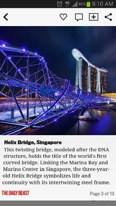 Most highly rated walkable bridges