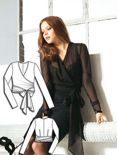 Read the article 'Femme Fatale: 7 Women's Sewing Patterns' in the BurdaStyle blog 'Daily Thread'.