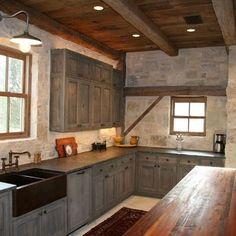 Rustic Kitchens Design