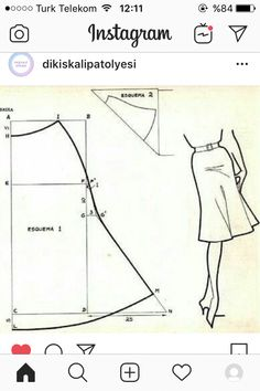 Sewing Projects For Beginners, Sewing Tutorials, Sewing Hacks, Dress Sewing Patterns, Clothing Patterns, Pattern Sewing, Sewing Clothes, Diy Clothes, Pattern Cutting