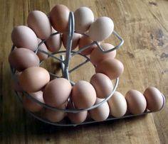 Organizador de huevos - Egg skelter - Ideas para el hogar