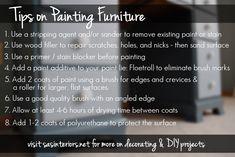 Tips on Painting Furniture by @jenna_burger on www.sasinteriors.net